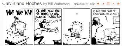 Calvin and Hobbes 1985-12-27