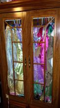 Cydnee's princess closet... it is bursting at the seems