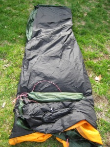 This looks like a great way to start rolling a tent that you care about