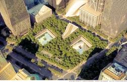 8 of the 16 acres at the WTC site are now a memorial and museum