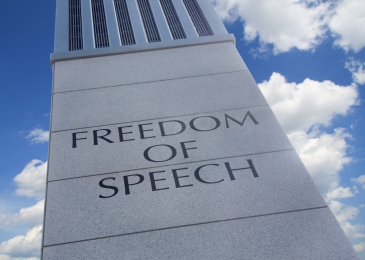 Photo - Freedom of Speech Monument