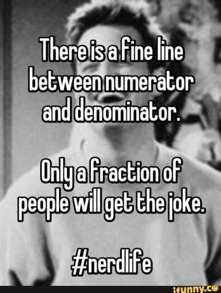 numerator-denominator