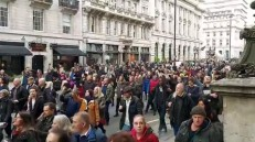 Another thousand peaceful protestors